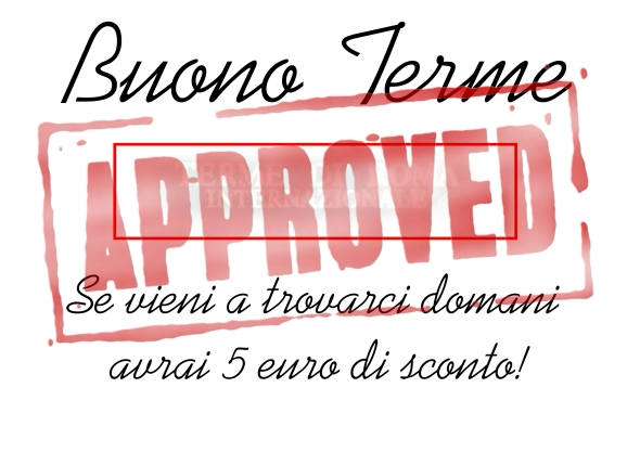 buono terme approved