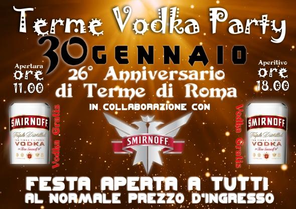 terme vodka party 30 gennaio 2018
