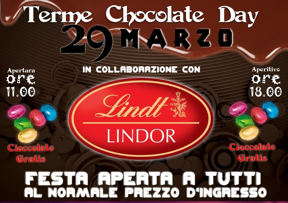 terme chocolate day 29 marzo 2018