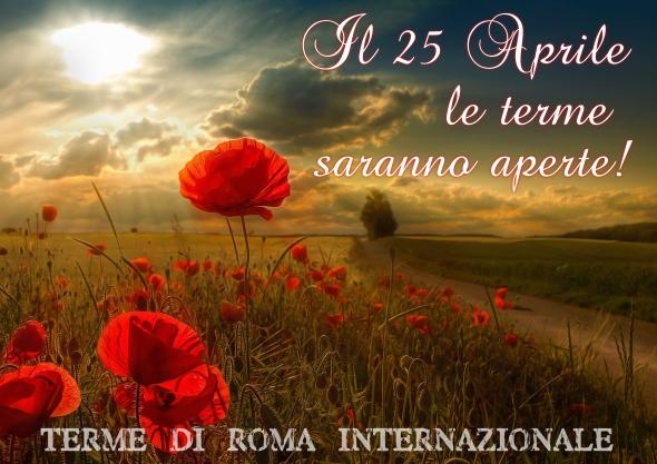 25 aprile aperti