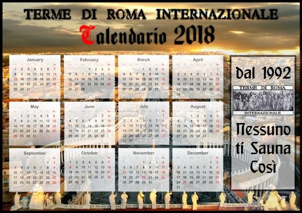 calendario 2018 terme