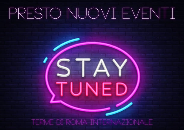 stay tuned eventi